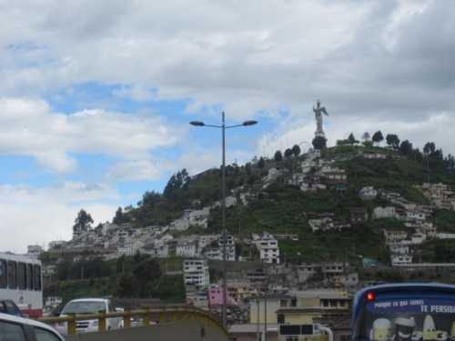el panecillo Quito